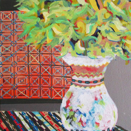 Jarra con Flores by Harrison Tobon