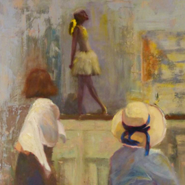 Hat and Degas by Irena Jablonski
