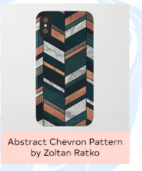 ABSTRACT CHEVRON PATTERN BY ZOLTAN RATKO